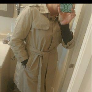 🆕 Gap khaki trench coat